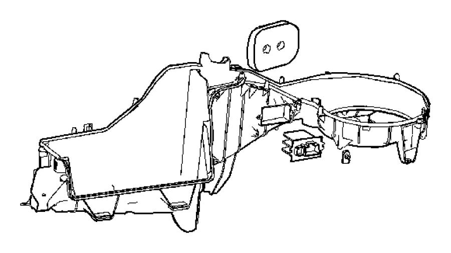 Jeep Grand Cherokee Resistor Blower Motor