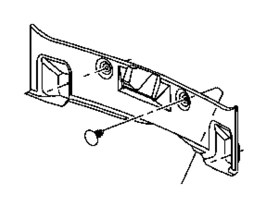 Dodge Magnum Carpet Luggage Compartment Trunk Rear End