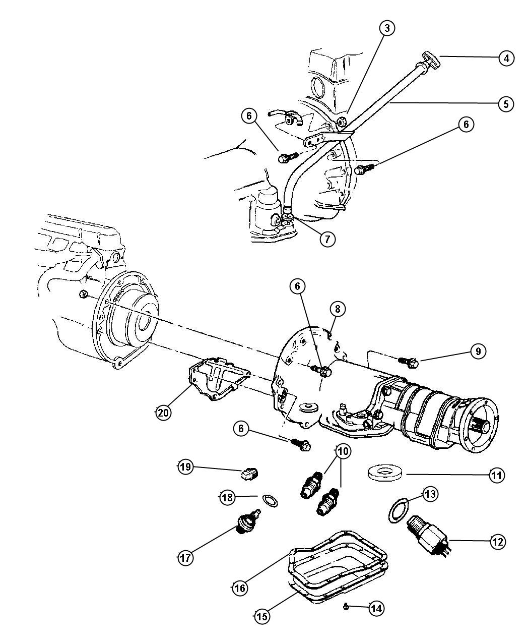 Dodge Journey Used For Seal And Gasket Package