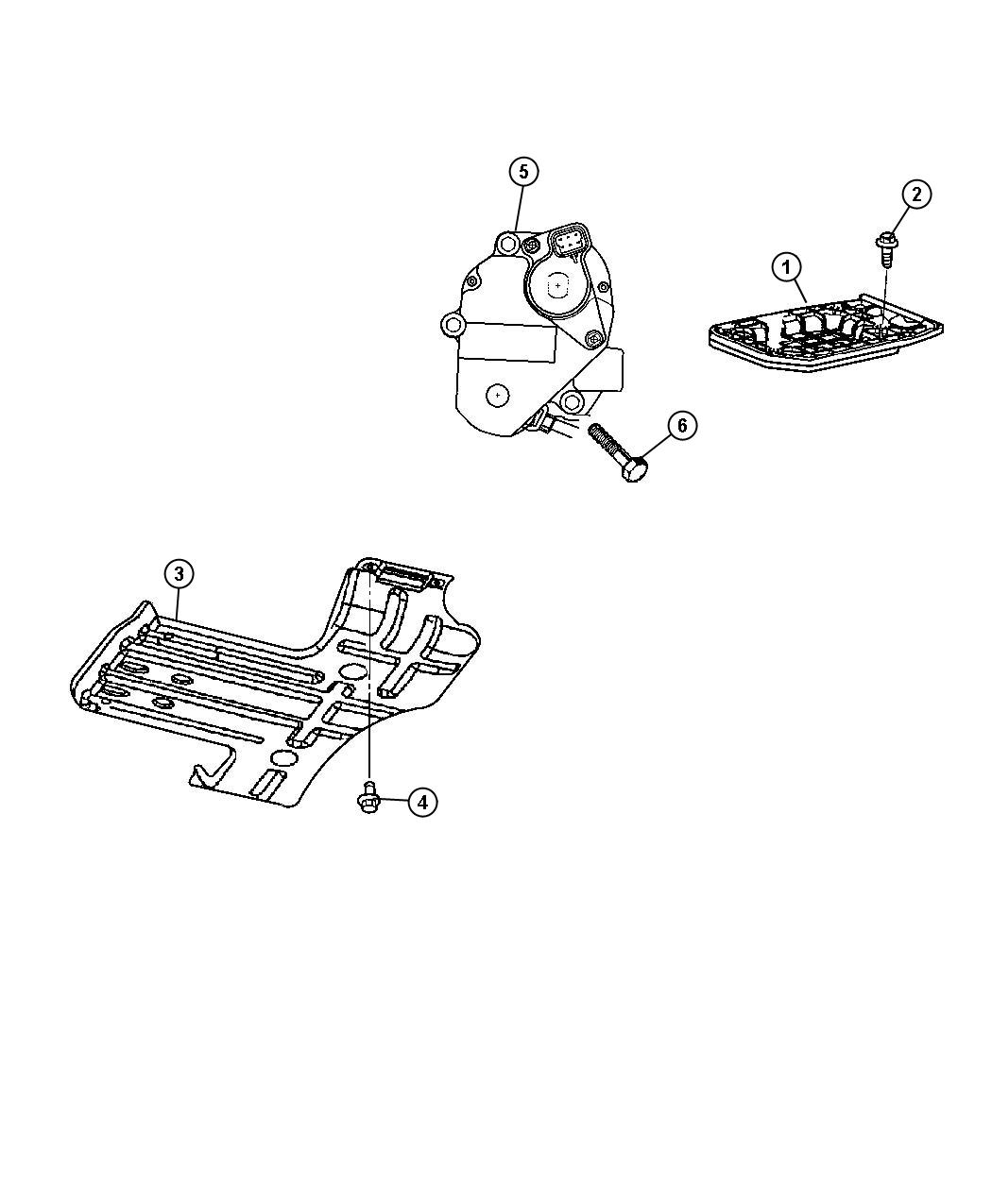 Jeep Compass Crossmember Skid Plate Mounting Xef