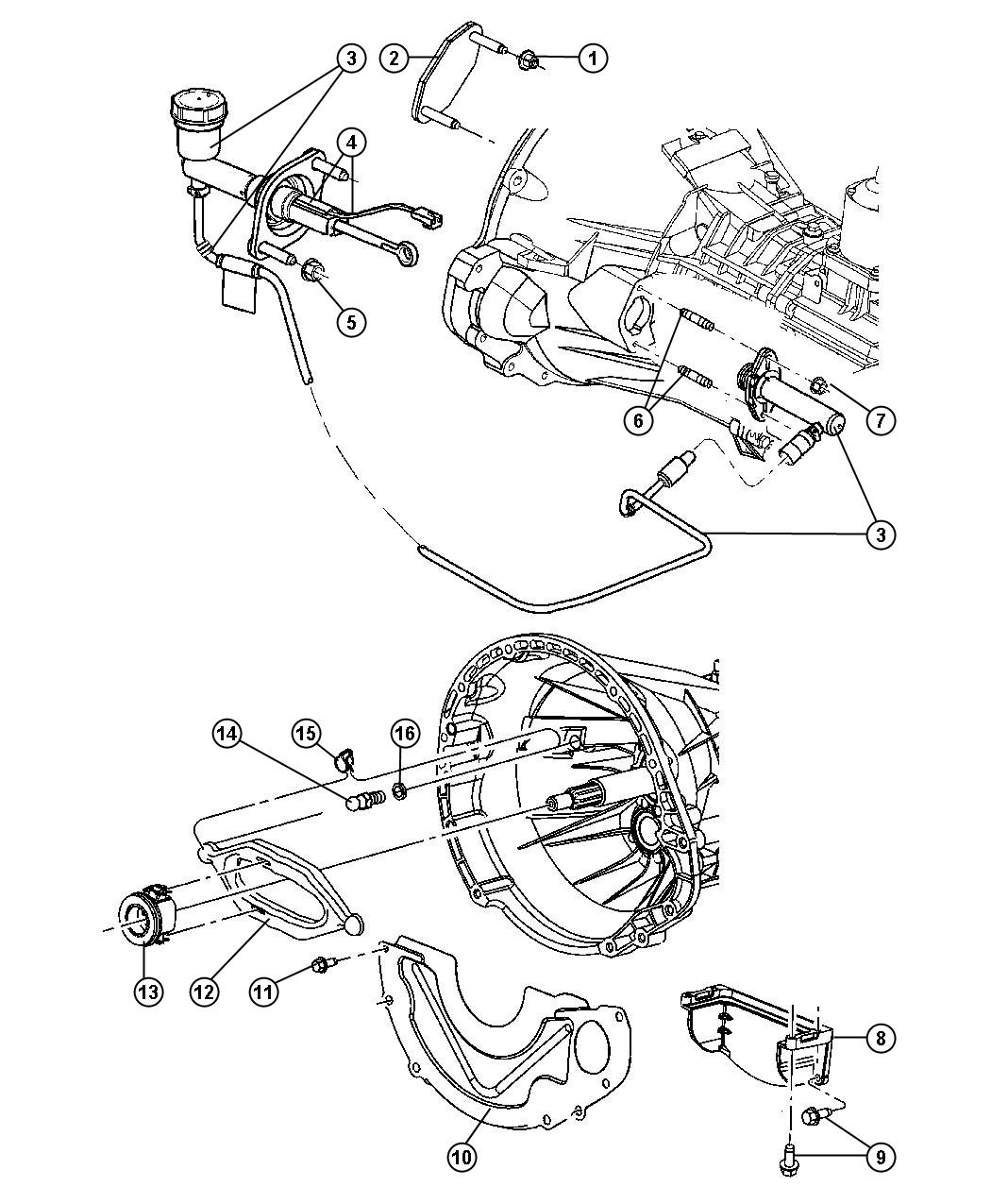 Dodge Ram Cover Dust Structural Engine Structural Collar