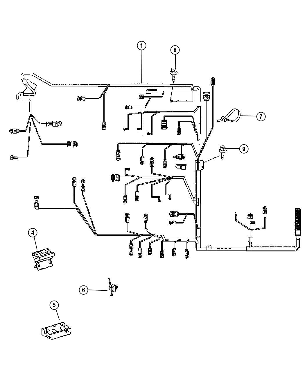 Dodge Sprinter Harness Wiring Battery