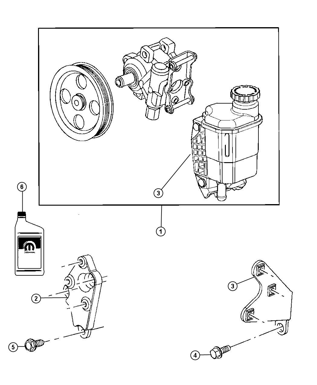 Dodge Ram Used For Pump And Pulley Power Steering
