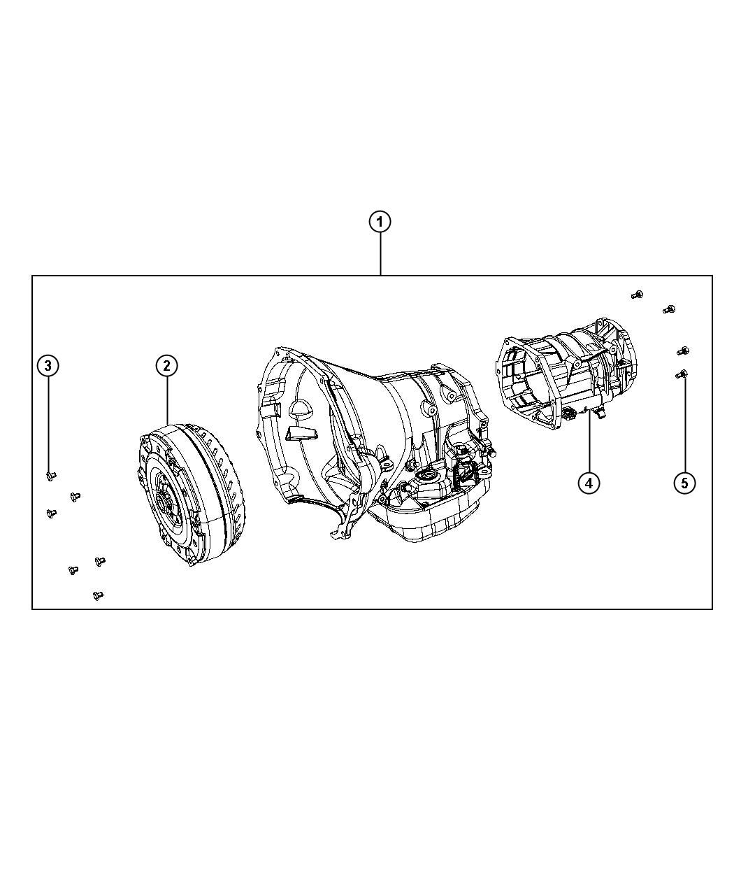 Dodge Ram Overdrive With Transmission Aa