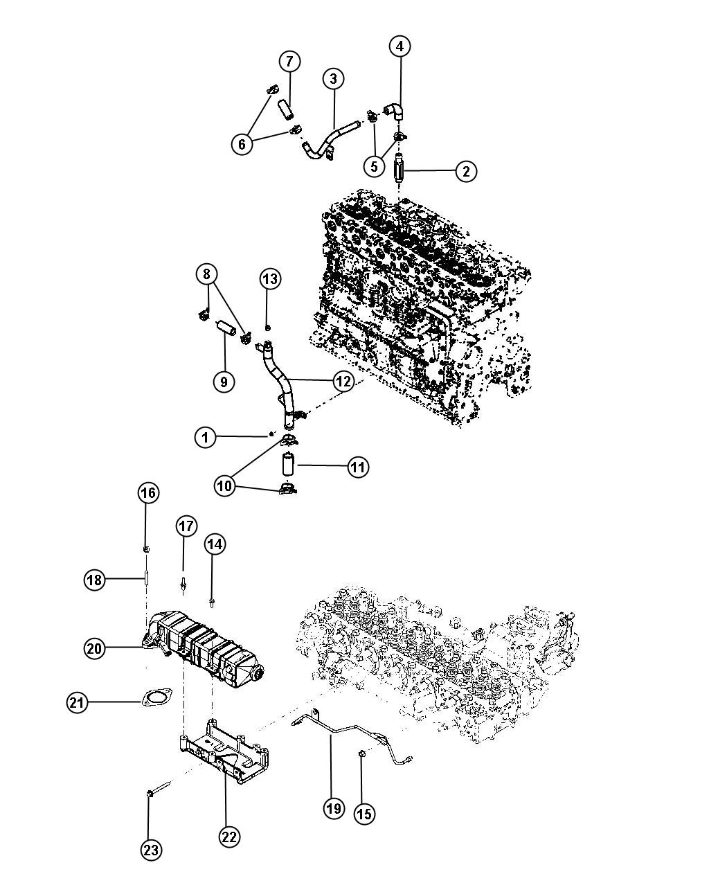 Dodge Ram Connector Emissions State Federal