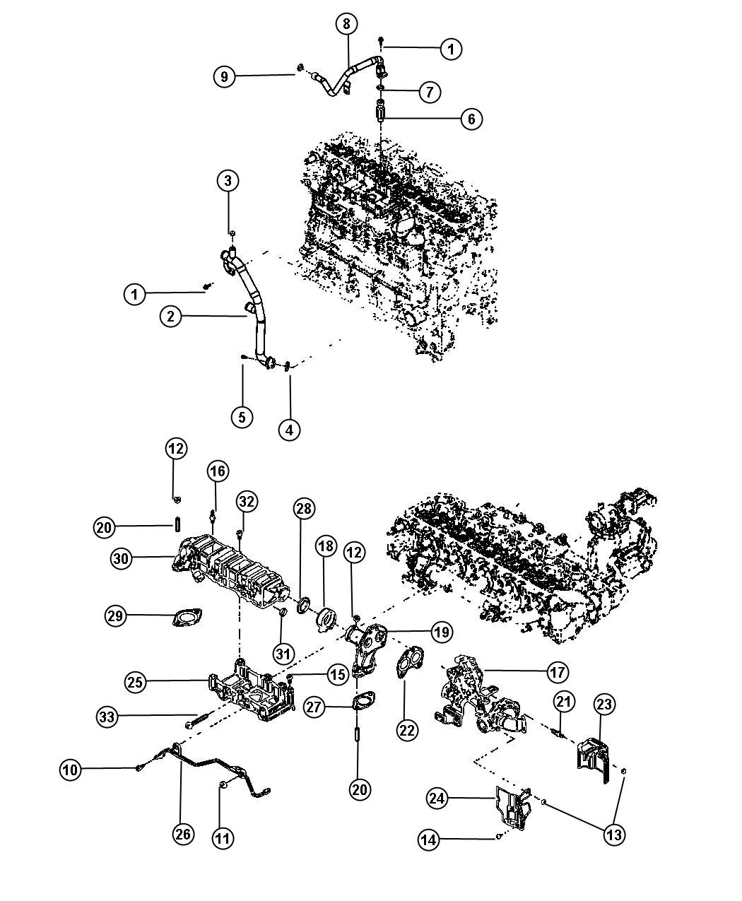 Dodge Ram Bypass Cooler 50 State Emissions