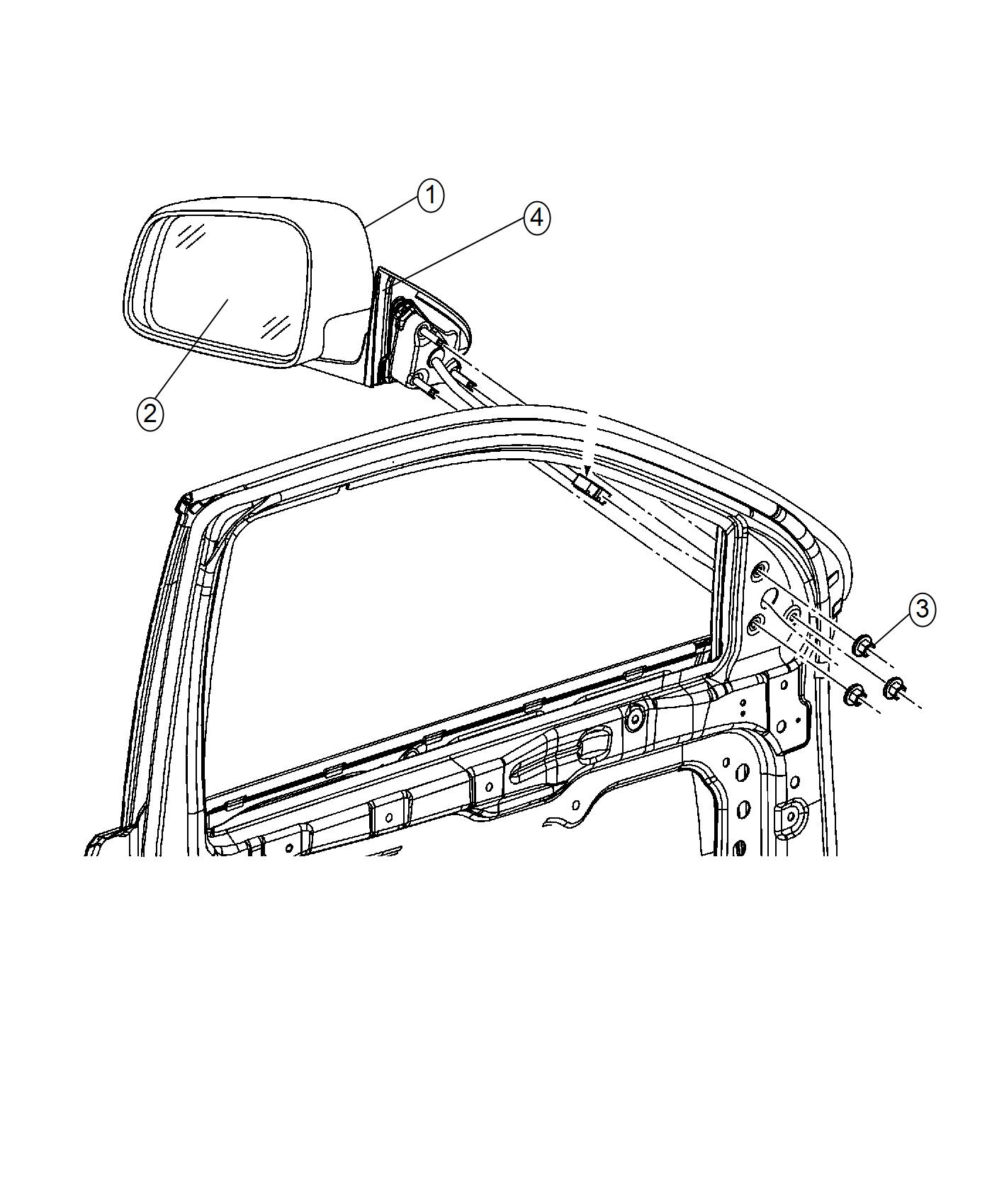 Dodge Mirror Wiring Diagram - Technical Diagrams on