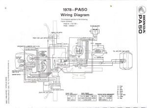 Re: Wiring diagram 1980 Honda PA 50