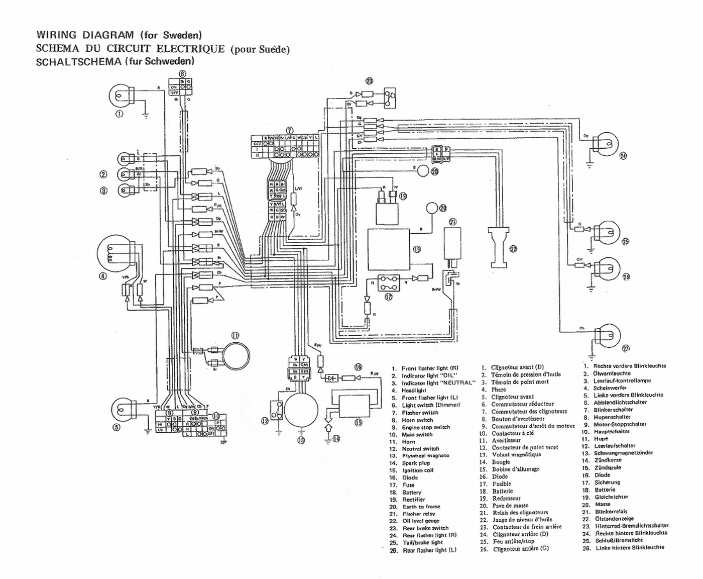 Yamaha Chappy Fuel Diagram Yamaha Free Engine Image For