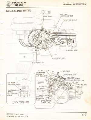 [WRG7159] Honda Express Wiring Diagram