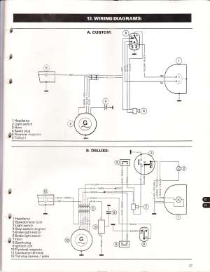 Puch wiring diagrams  Moped Wiki