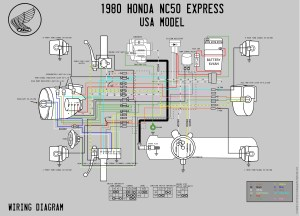 1980 Honda NC50 Wiring Diagram  Moped Wiki