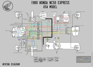 1980 Honda NC50 Wiring Diagram  Moped Wiki