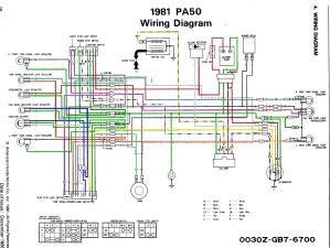 Stock hobbit cdi w jog box wiring diagram — Moped Army