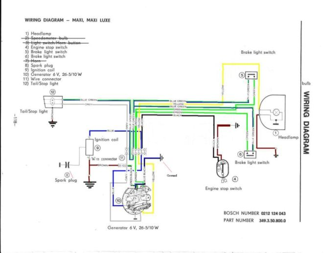 puch wiring  moped wiki — moped army