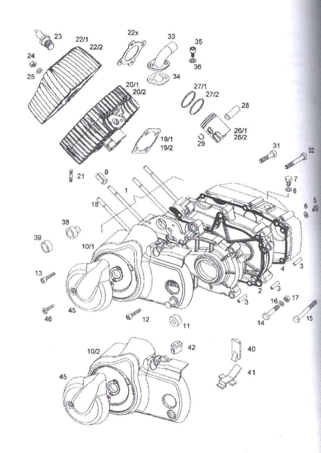 A55 Engine Parts