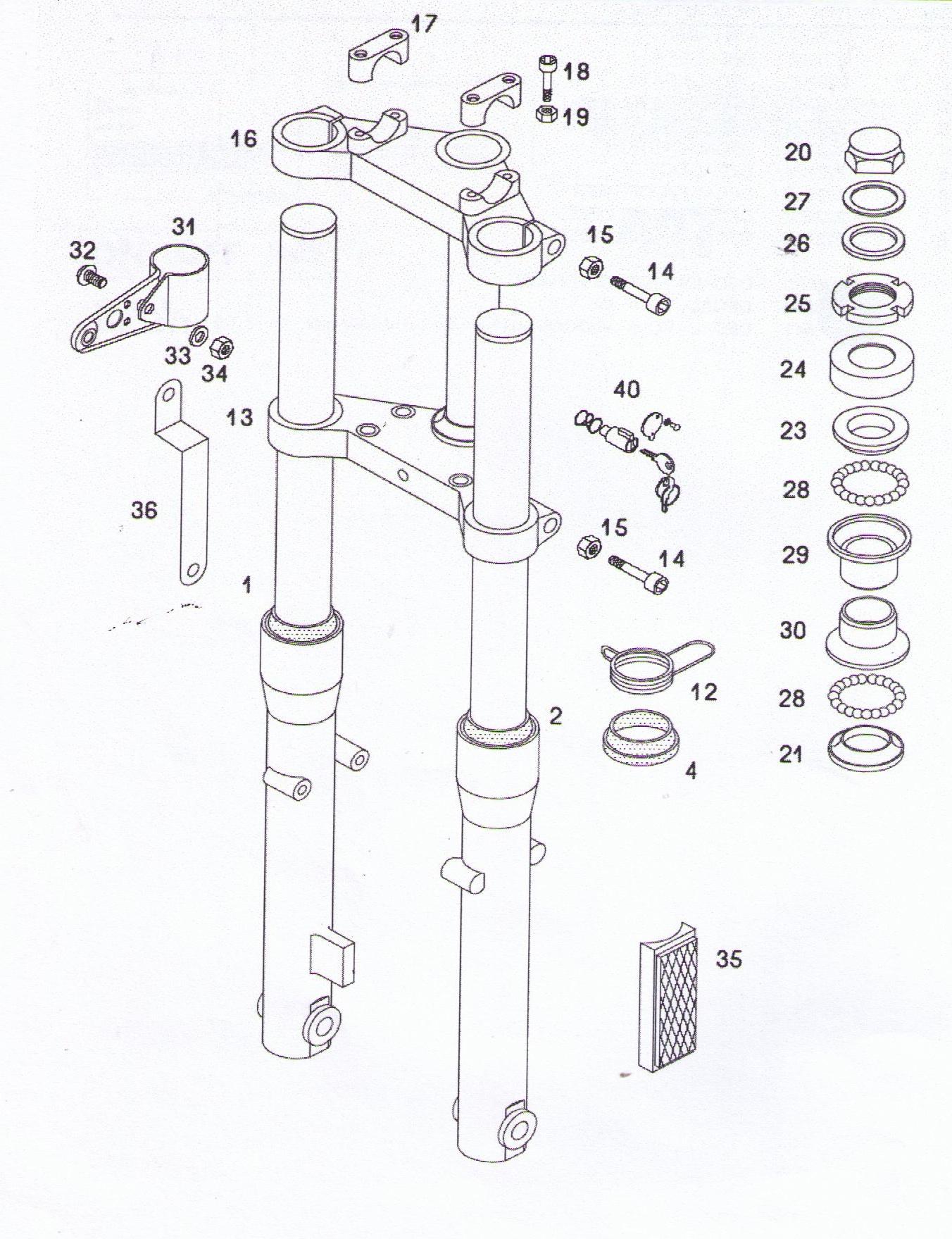 Tomos Fork Amp Fork Parts 5 Subcategories