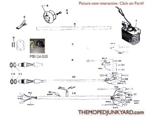 motobecane controls (5 Subcategories)