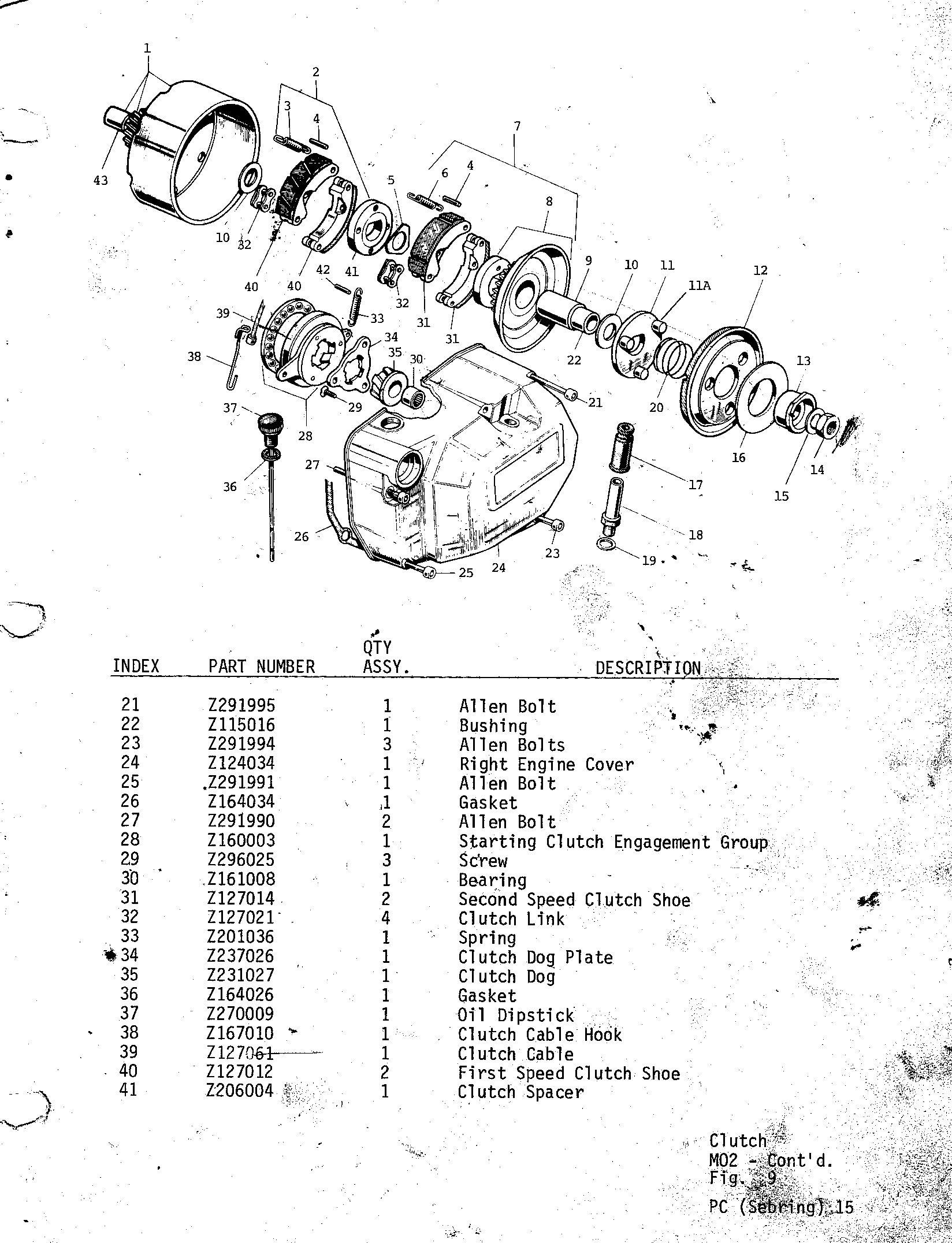 15 Clutch M02