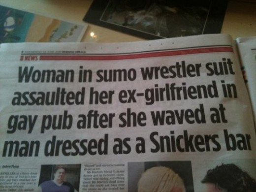 Best Newspaper Headline EVER