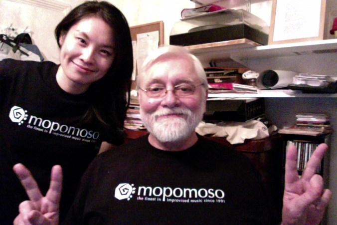 mopomoso T shirts with Vicky