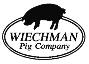 WIECHMAN-pig-BW-Logo