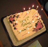 Leonardos Birthday Cake