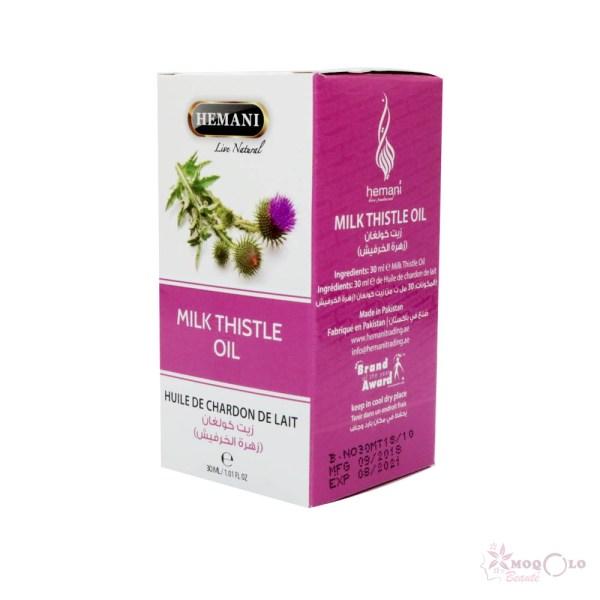 huile végétale de chardon au lait