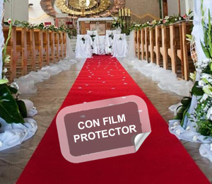 Pasillero bodas con film 1,01m ancho