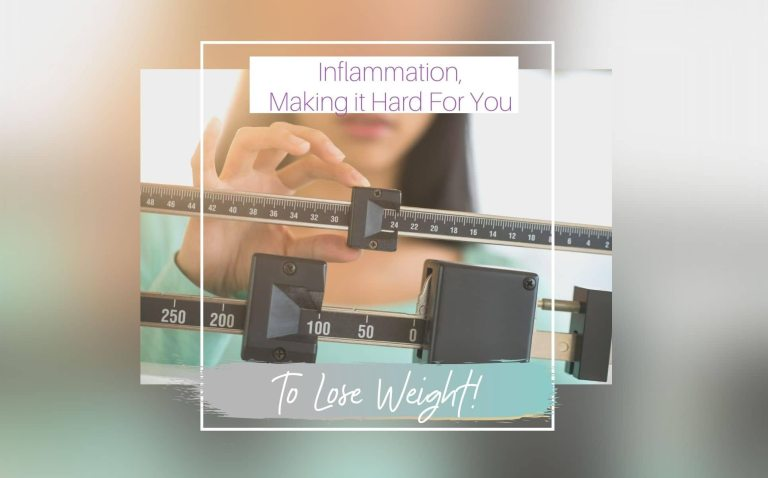 Inflammation- Making it Hard For you to Lose Weight