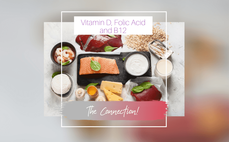 Vitamin D, Folic Acid & B12 connection