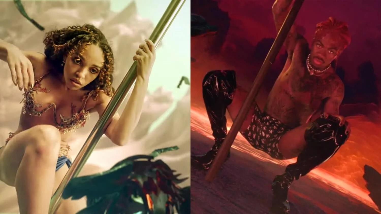 """Andrew Thomas Huang señaló a Lil Nas X por las similitudes entre el video de """"Montero"""" y """"Cellophane"""" de FKA twigs"""