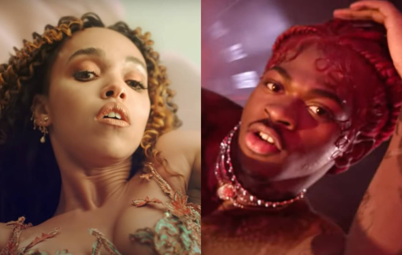 """FKA twigs llamó a Lil Nas X para que reconociera las similitudes entre sus videos: """"Gracias por reconocer la inspiración que 'Cellophane' te dio"""""""