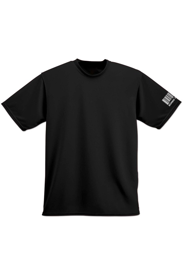 MFLA Morbid Fiber Los Angeles Street Wear Plain Black tshirt