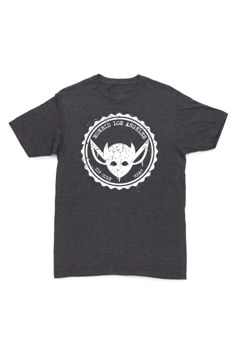 MORBID Los Angeles Clothing-Streetwear- Grunge Fashion Navy tshirt