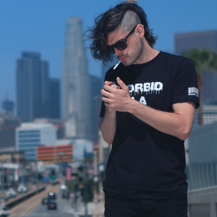 MORBID Los Angeles Streetwear Fashion Rocker Style Tshirt