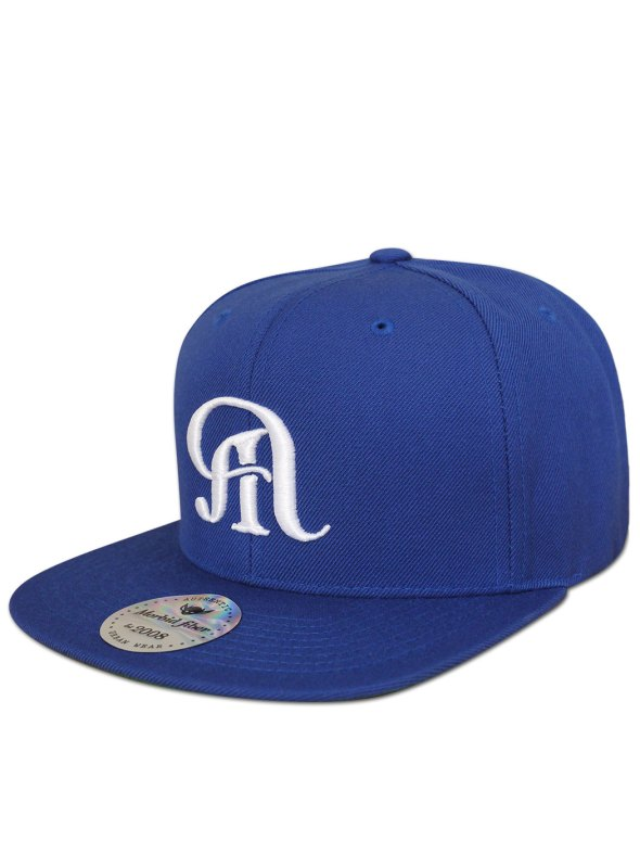 Morbid Fiber Downtown LA Dodger Blue Snapback Hat