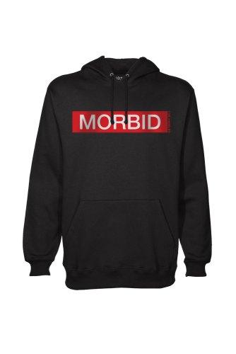 Morbid Fiber Clothing Los Angeles Streetwear Fashion Black Hoodie