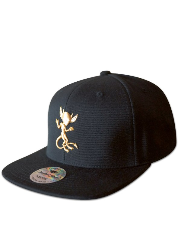 Morbid Fiber Los Angeles Clothing Streetwear Snapback GOLD IMP Hat