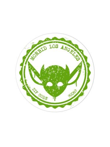 Morbid-Los-Angeles-Streetwear-Green-Grunge-Sticker-Decal