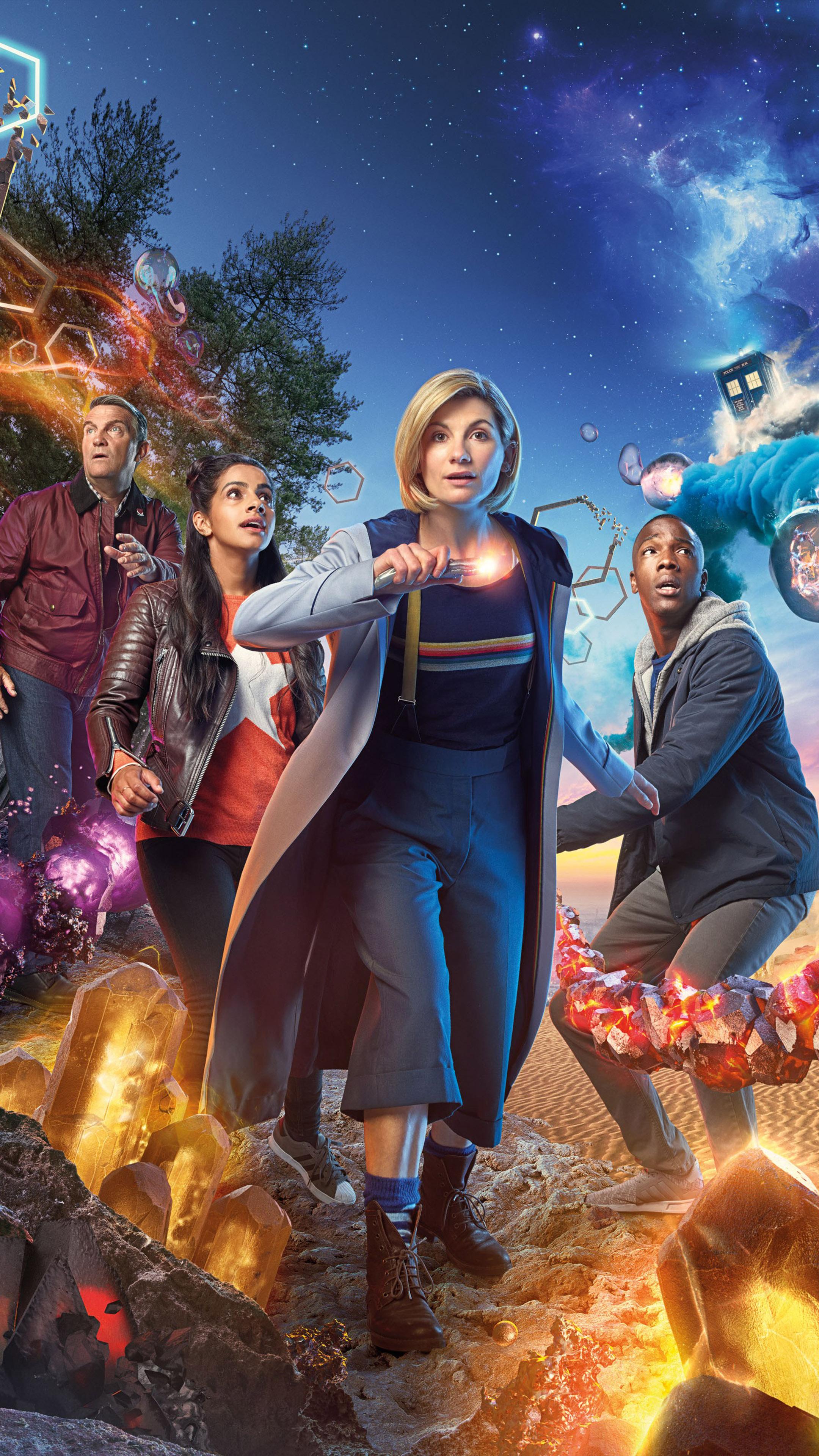 Jodie Whittaker In Doctor Who Season 11 4k Ultra Hd Mobile Wallpaper