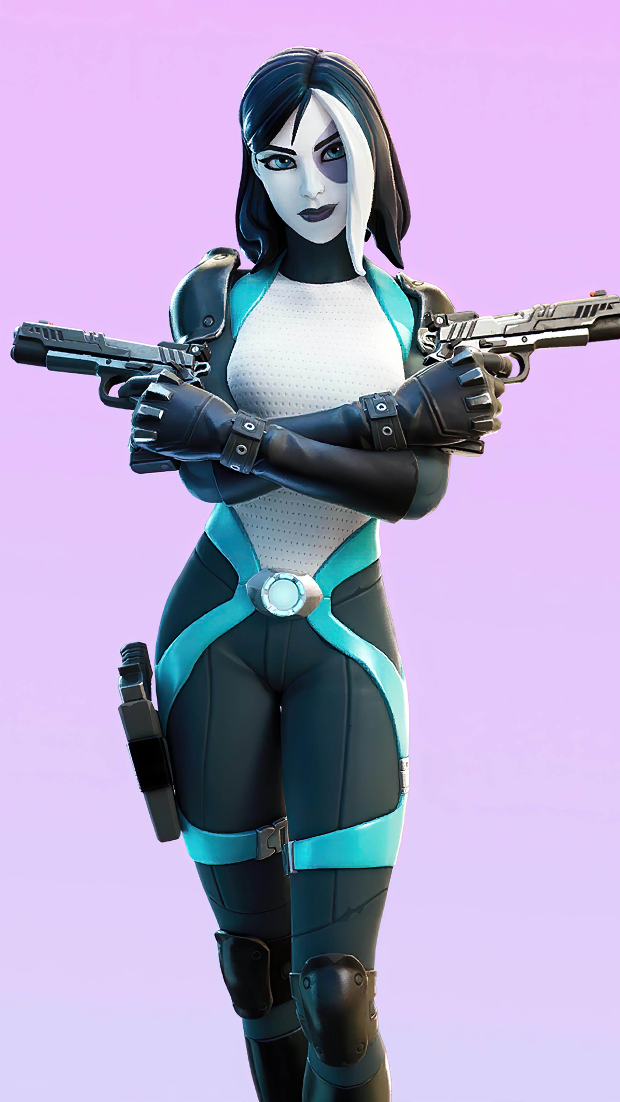 Domino Fortnite Skin 4k Ultra Hd Mobile Wallpaper