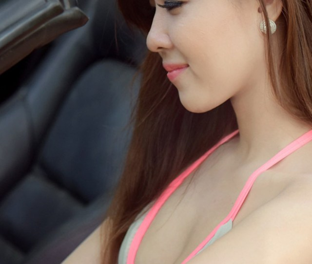Hot Asian Girl Driving Car Hd Mobile Wallpaper