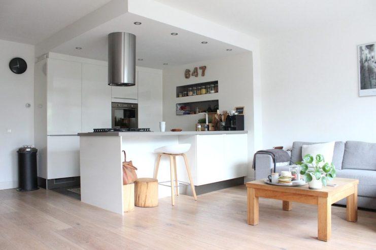 Binnenkijken Nermina woonkamer en keuken