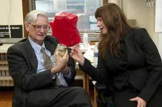 E.O. Wilson visits the Moreau Lab – November 2010