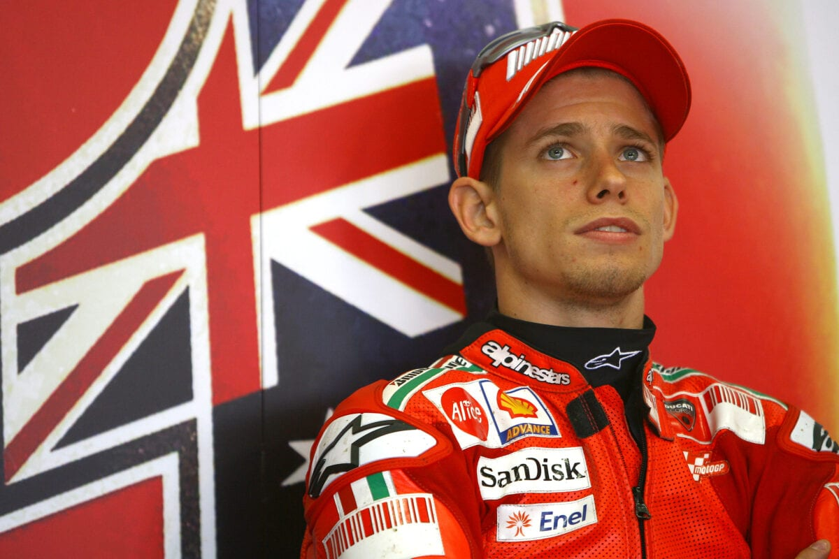 Casey Stoner has been speaking about ongoing health issues and a lack of memory.
