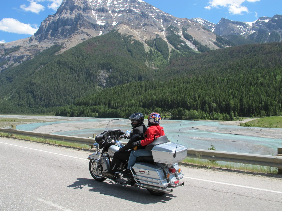 Orange and Black's Canadian Rockies and Rivers Tour