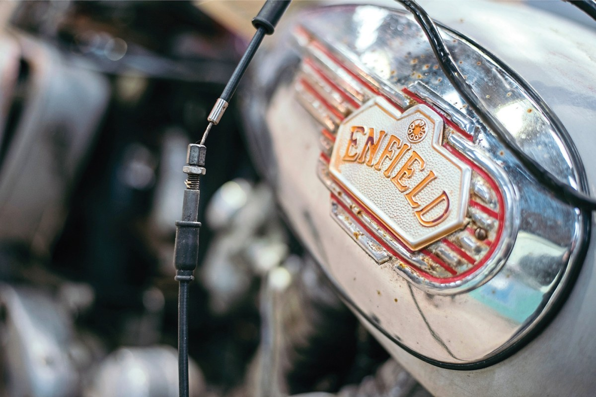 Royal Enfield at the Bristol Classic Bike Show