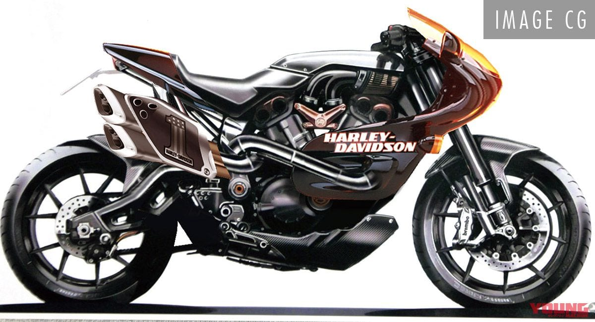 Is Harley-Davidson working on a sportbike? Could it look like THIS?