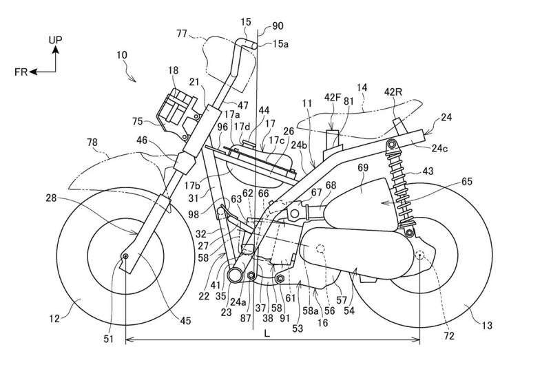 PATENTS: Honda's designs for an EVEN SMALLER Monkey.